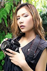 Vanessa Wang Taking Pictures