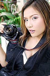 Posing With Camera