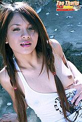 Exposing Breast Long Hair In Pigtails