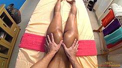 Having Her Ass Massaged