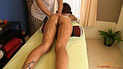 Massaged With Oil