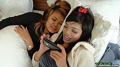 Girls Looking At Phone