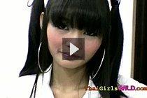 Cute Thai Girl Eaw Sucks White Cock And Fucks Doggy Style
