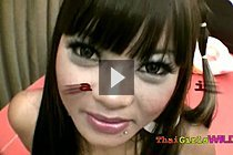 Busty Thai Girl Gail Riding White Cock And Giving Breast Sex